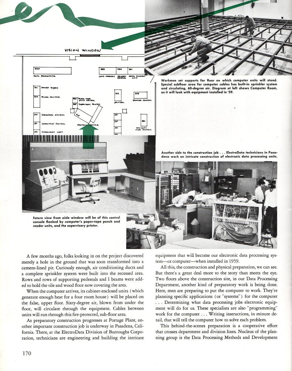 First Mainframe Computer